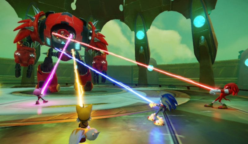Sonic Boom Rise of Lyric Eggman Boss BagoGames