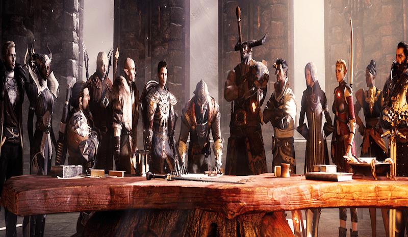 Dragon Age Inquisition Cast BagoGames