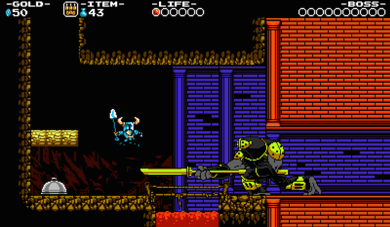 Shovel Knight Dungeon Keep BagoGames