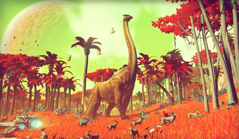 No Man's Sky Dinosaurs BagoGames