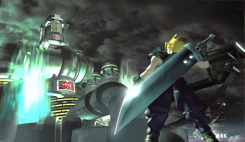Final Fantasy VII Cloud Shinra BagoGames