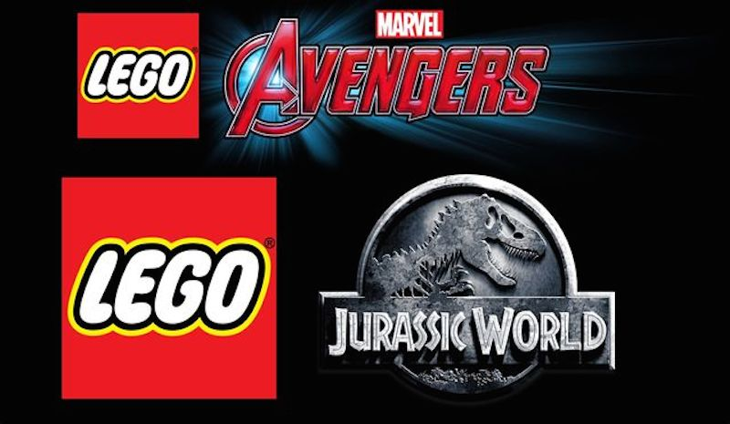 Lego Avengers Jurassic World Logos BagoGames