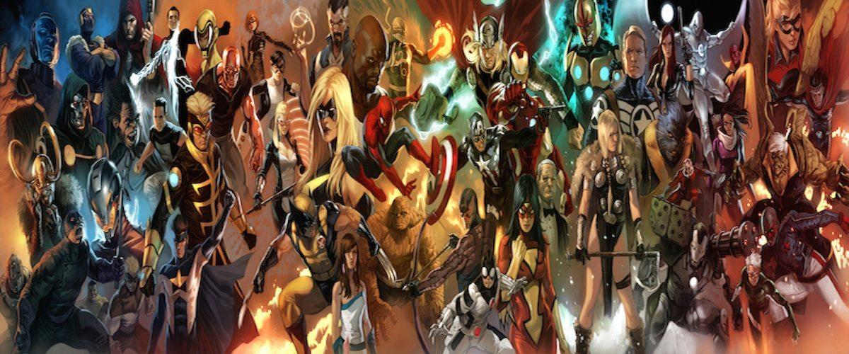 Marvel Comics Characters Banner BagoGames
