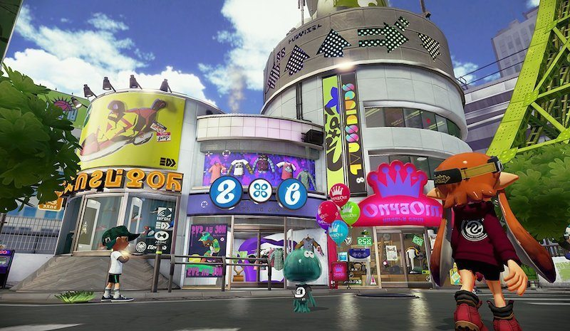 Splatoon Mall BagoGames
