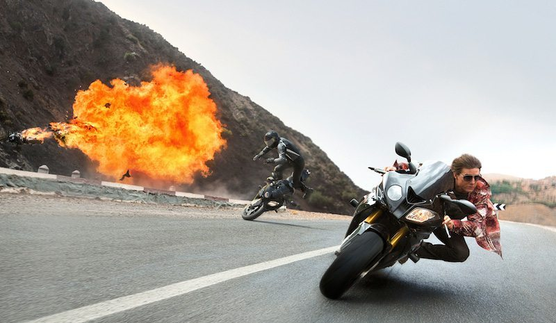 Mission Impossible Rogue Nation Motorbike Chase BagoGames