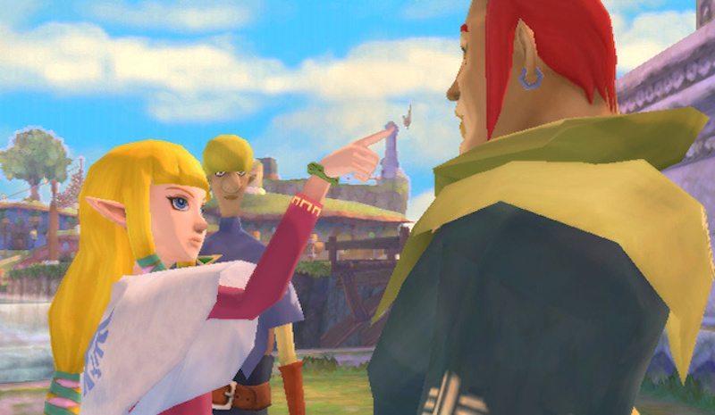 Legend of Zelda Skyward Sword Groose Told-Off BagoGames