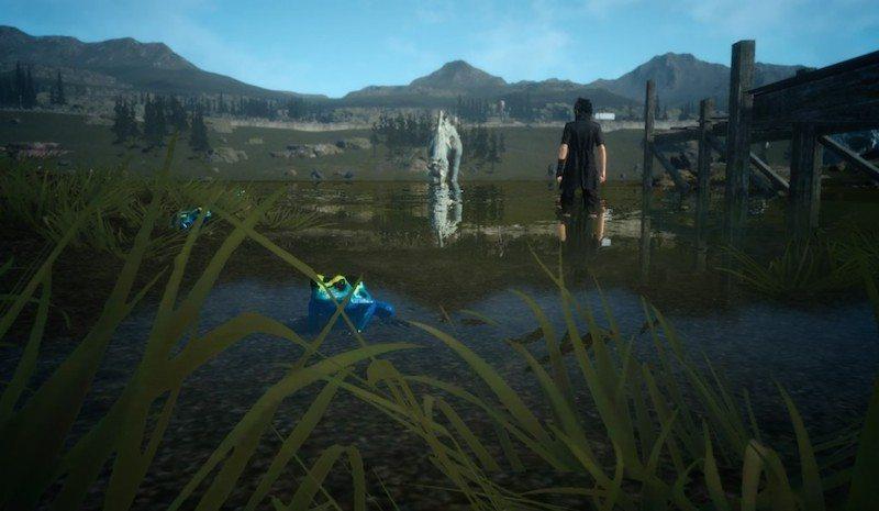 Final Fantasy XV Episode Duscae Pond BagoGames