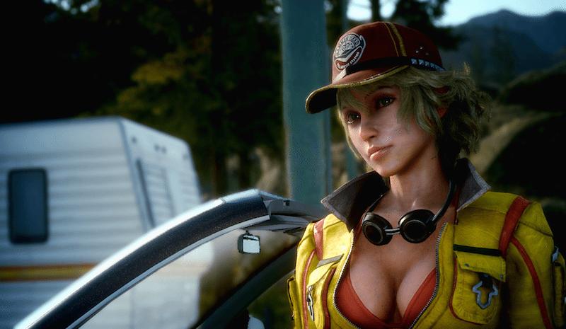 Final Fantasy XV Episode Duscae Cindy Car Garage BagoGames