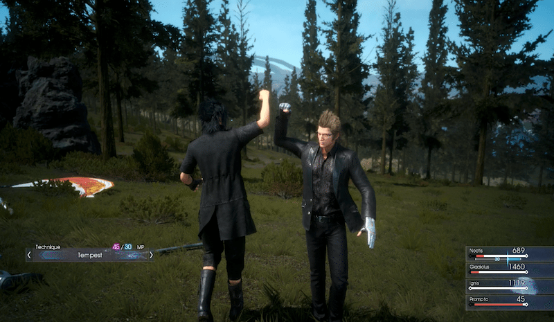 Final Fantasy XV Episode Duscae Bro Fist BagoGames