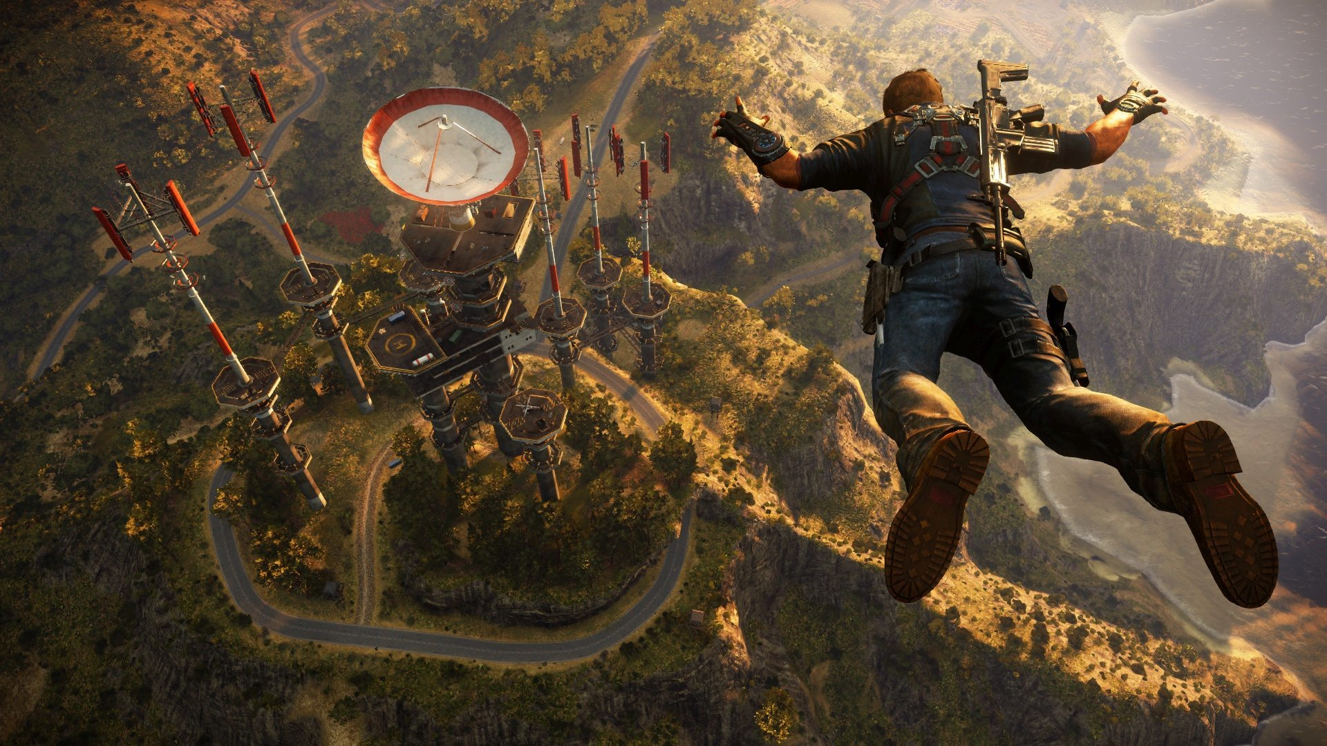 Just Cause 3 skydive
