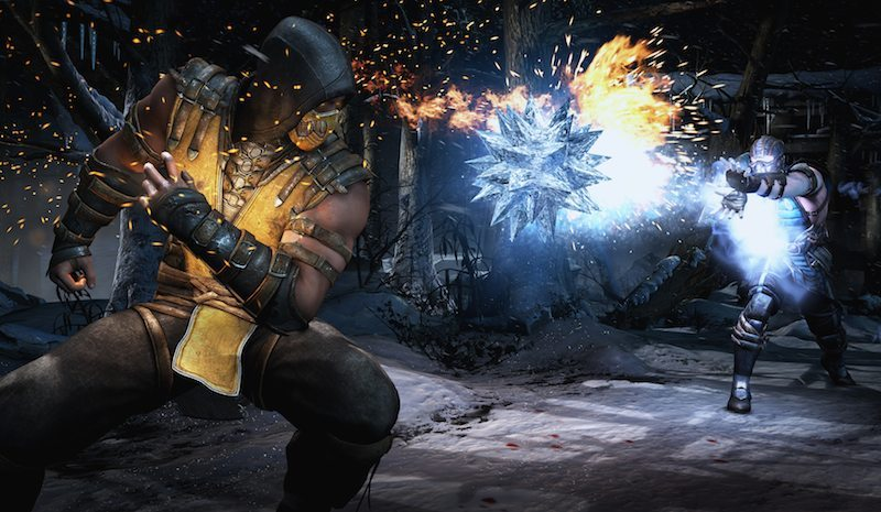 Mortal Kombat X Sub-Zero Vs. Scorpion BagoGames