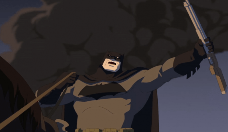 The Dark Knight Returns Animated Movie BagoGames