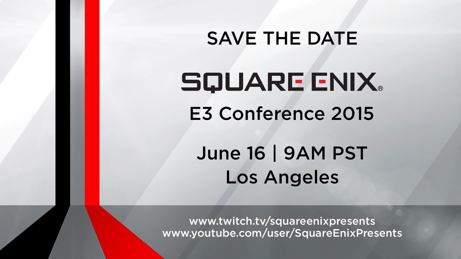 Square Enix E3 Press Conference