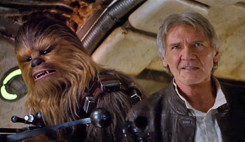 Star Wars Force Awakens Han and Chewie BagoGames