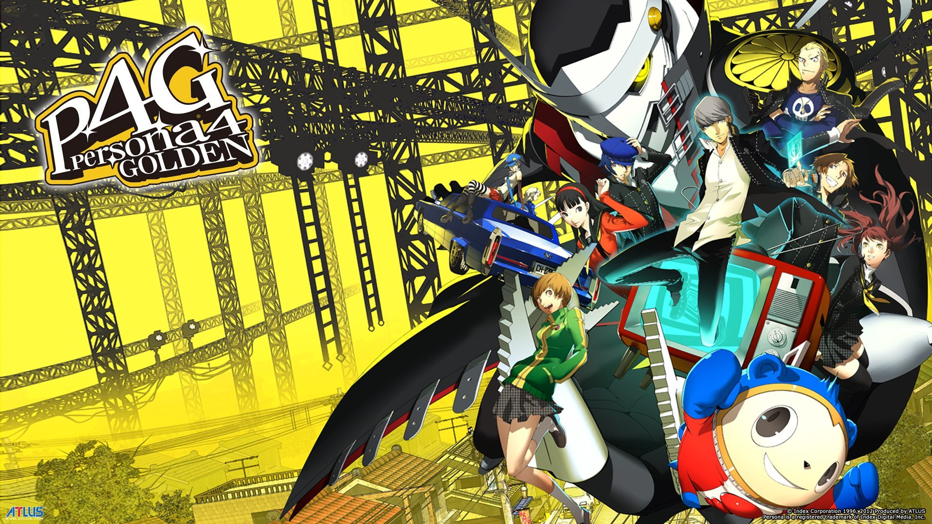 Key Art from Persona 4 Golden (Atlus)