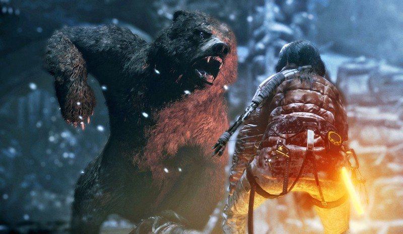Rise of the Tomb Raider Bear BagoGames