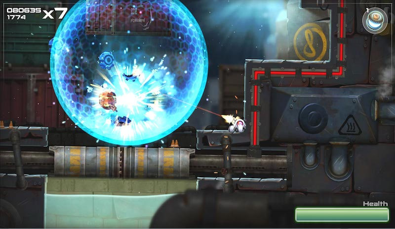 Rive Wii U Demo Boss BagoGames