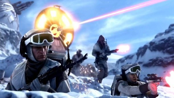 Star Wars Battlefront Hoth Gameplay Debut BagoGames