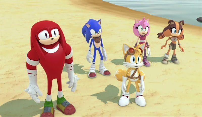 Sonic Boom Fire and Ice Cutscene Promo BagoGames