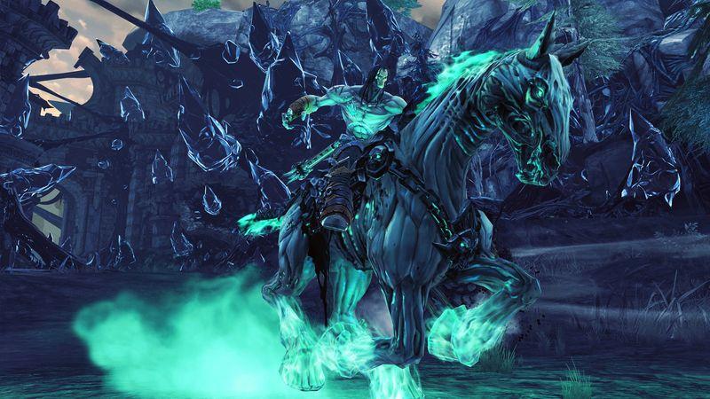 Darksiders II Death Horsebackriding BagoGames