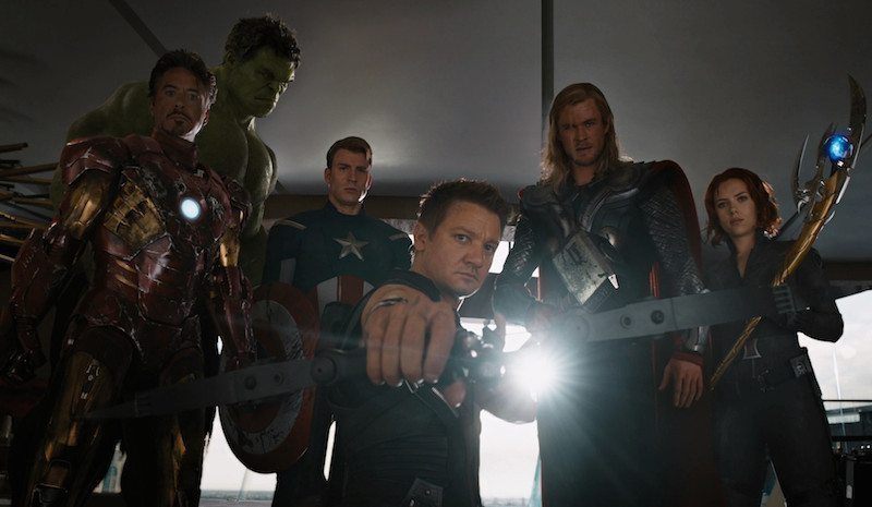 The Avengers Hands-Up BagoGames