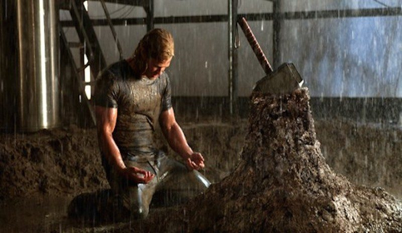 Thor (2011) Hammer in the Stone BagoGames