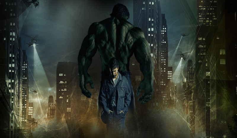 The Incredible Hulk (2008) Poster BagoGames