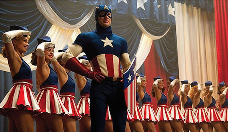 Captain America First Avenger Dance Number BagoGames