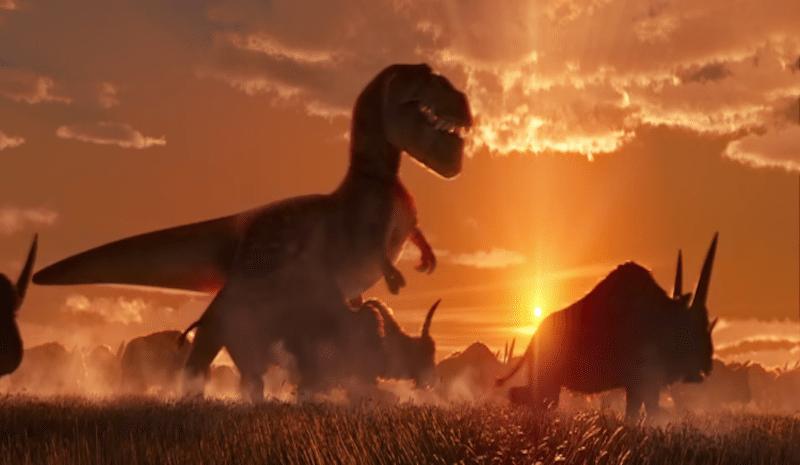 The Good Dinosaur Sunset BagoGames