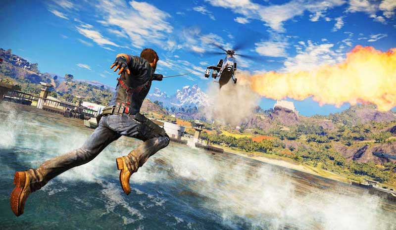Just Cause 3 Copter Grapple BagoGames