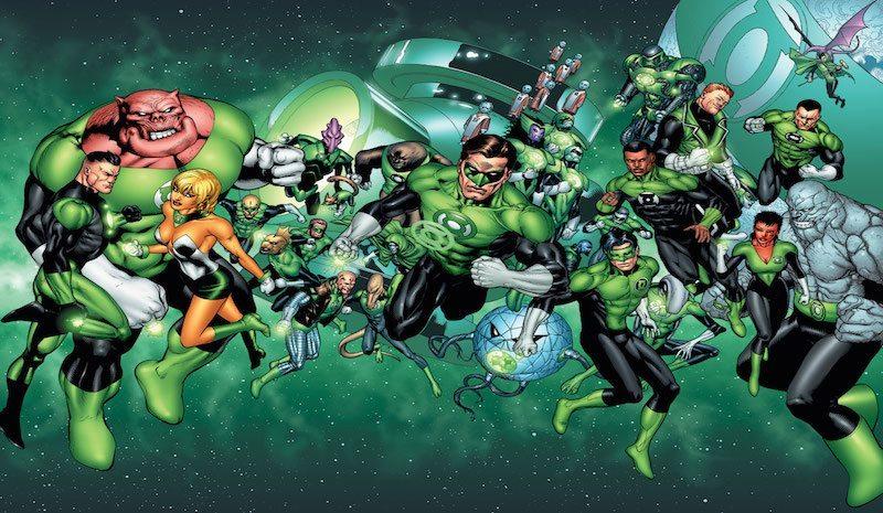 Green Lantern Corps Comics BagoGames