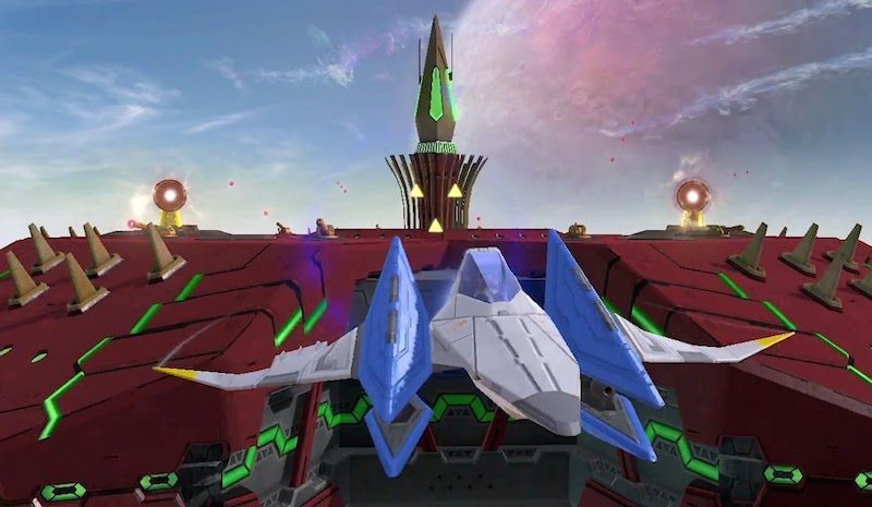 Star Fox Zero Arwing BagoGames
