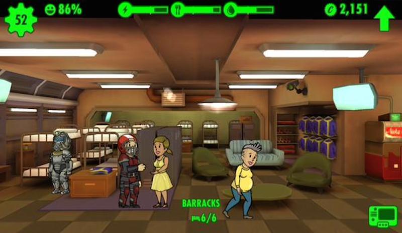Fallout Shelter Pregnant Dwellers BagoGames