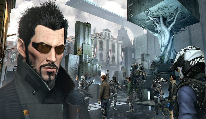 Deus Ex Mankind Divided Plaza BagoGamese