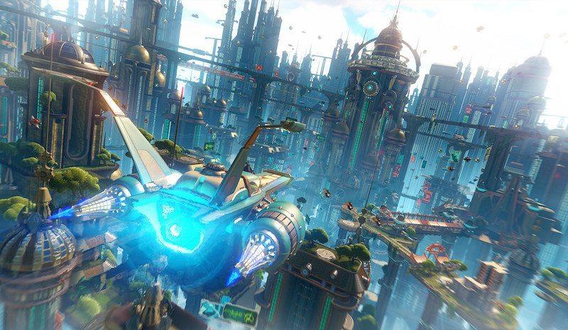 Ratchet & Clank PS4 Skyline BagoGames