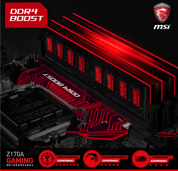 DDR4 Boost lookos to achieve pure and max speeds.