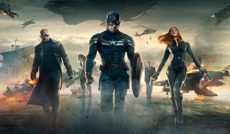 Captain America The Winter Soldier Poster BagoGames