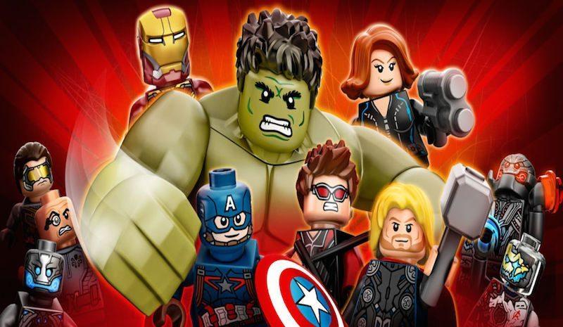 Lego Marvel's Avengers Promo Art BagoGames