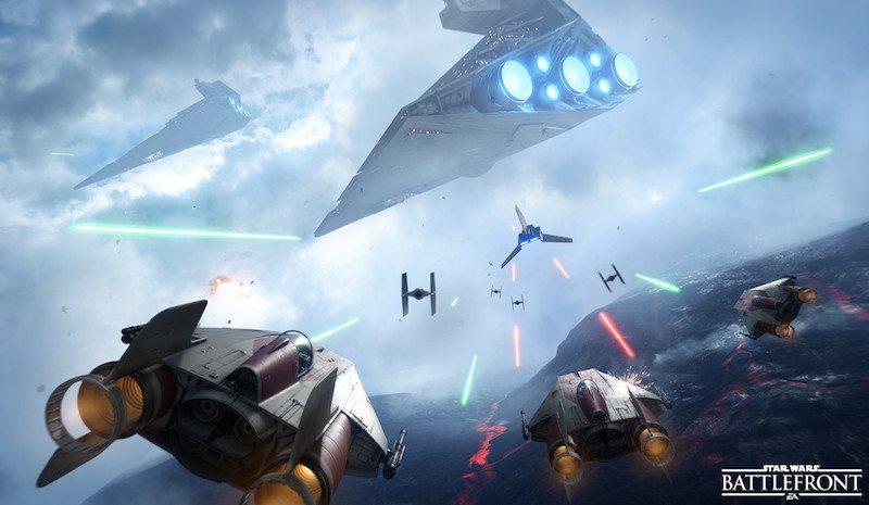 Star Wars Battlefront A-Wings BagoGames