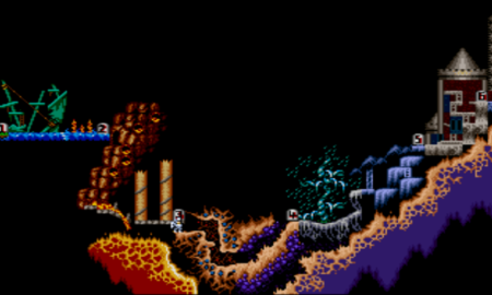 (Super Ghouls and Ghosts - Capcom)