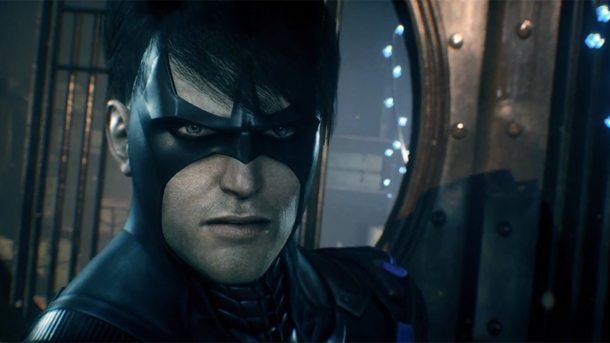 Nightwing in Batman: Arkham Knight
