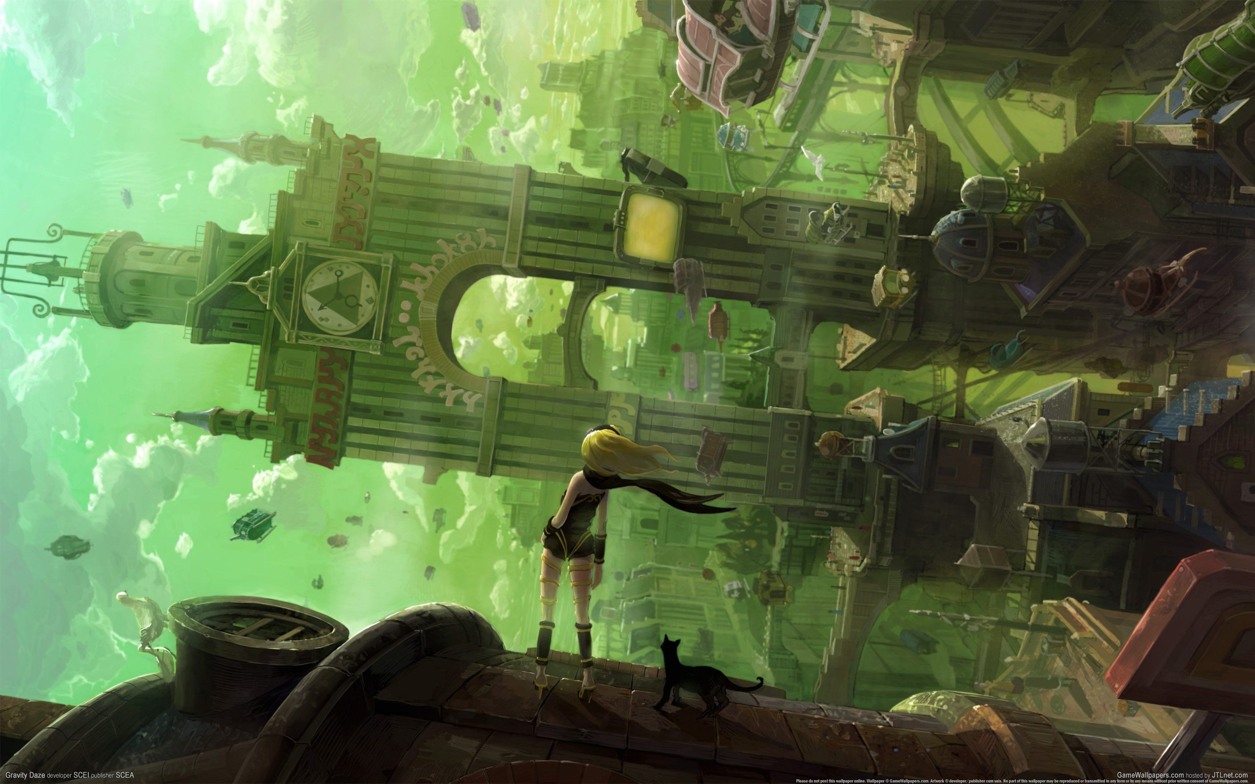 Gravity Rush Cover Art BagoGames