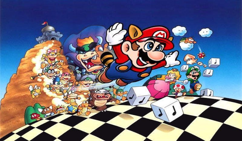 Super Mario Bros. 3 Artwork BagoGames