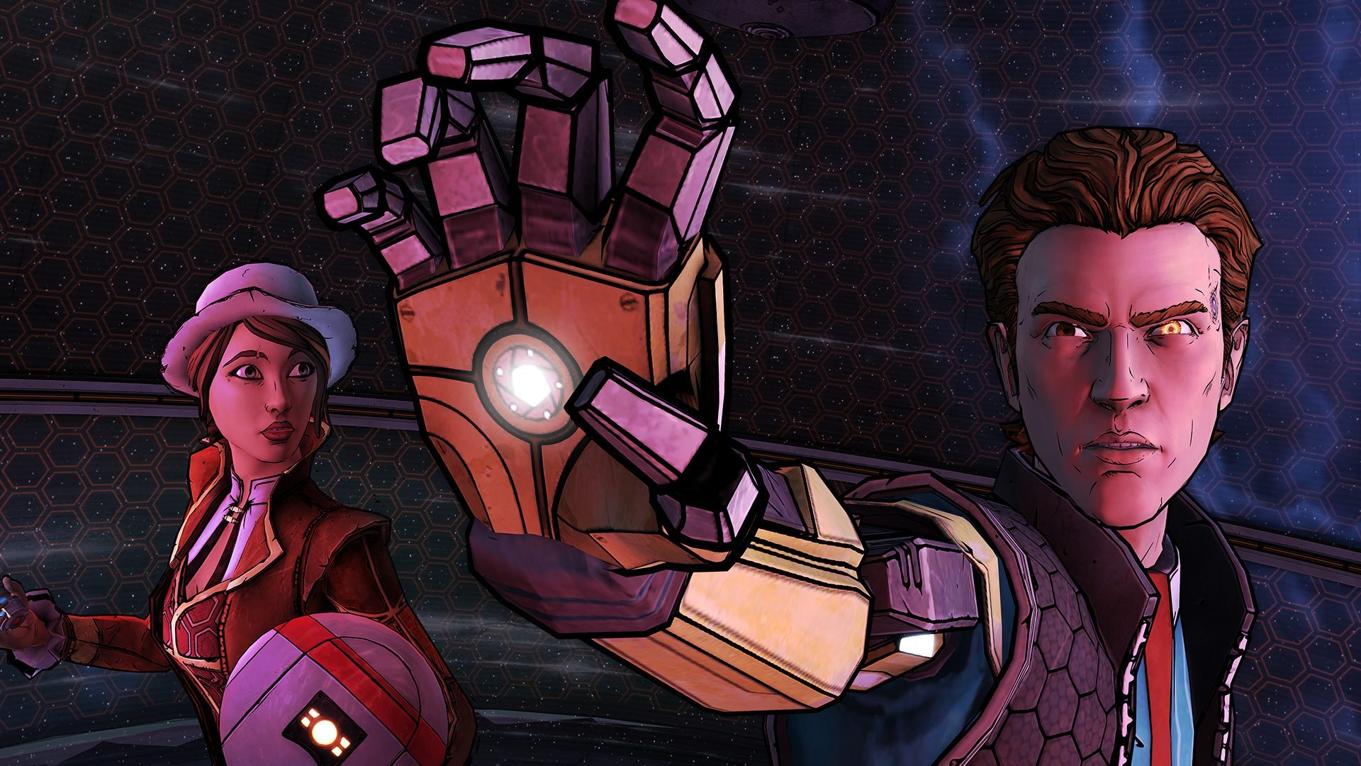 Rhys and Fiona in Tales from the Borderlands