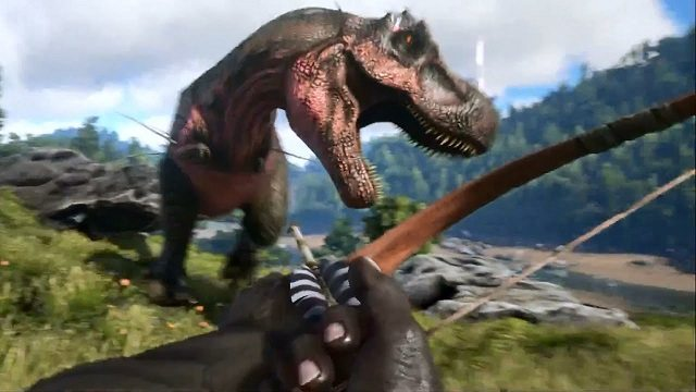 Well it seemed like a good idea at the time. Ark: Survival Evolved - Instinct Games