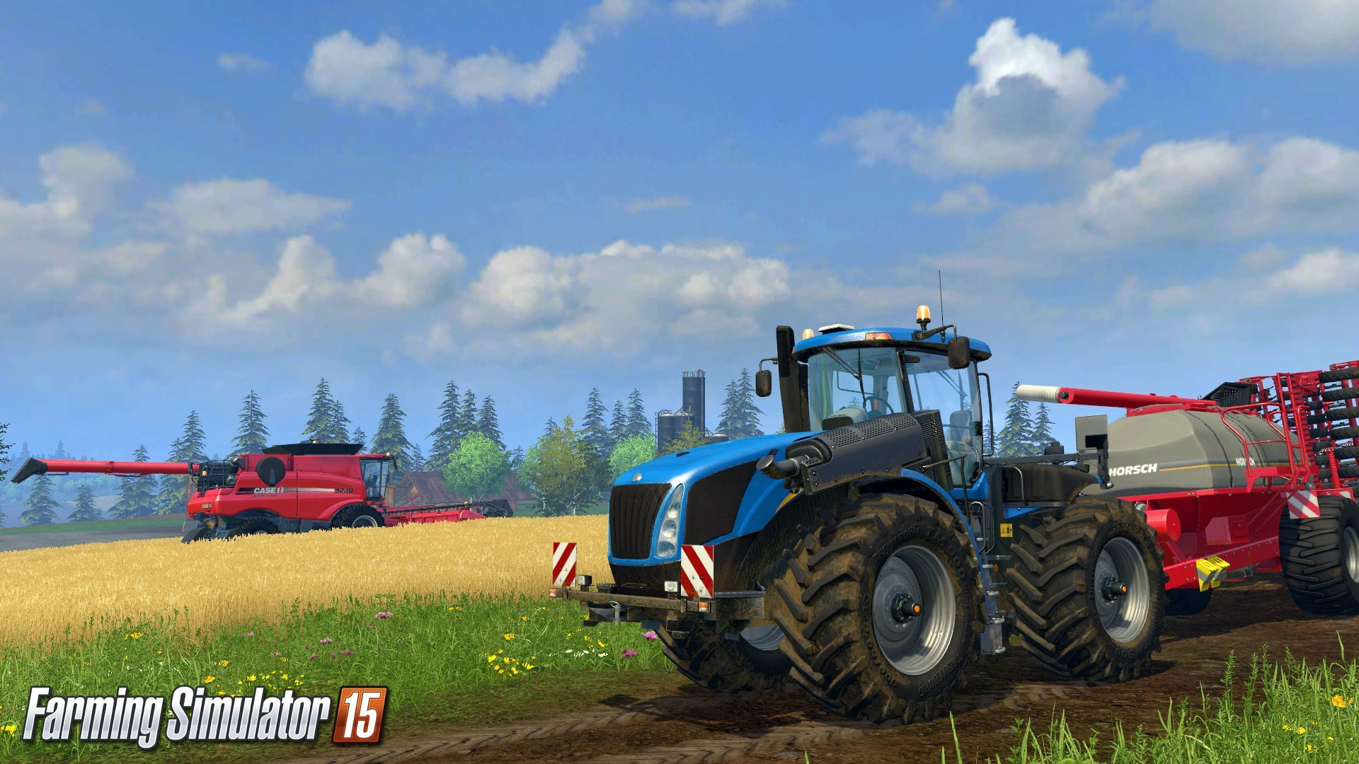 Thrustmaster Racing Wheels Now Compatible with Farming Simulator 15
