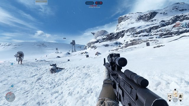 (STAR WARS: BATTLEFRONT - EA GAMES)