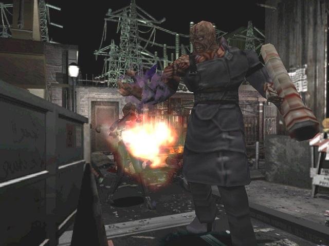 (Resident Evil 3: Nemesis - Capcom)