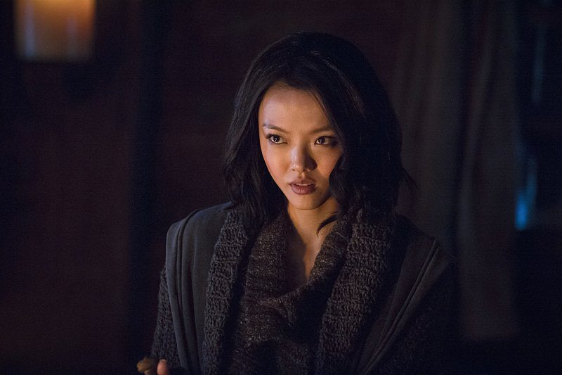 (Rila Fukushima in Arrow)