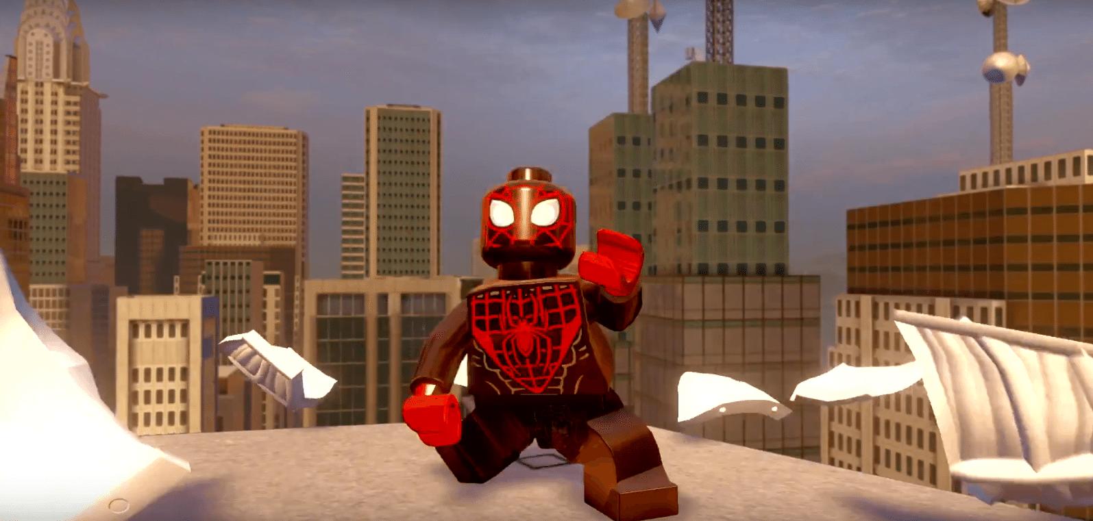 Lego Marvel Avengers Spider-Man